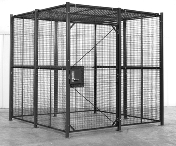 4-Sided Security Cage